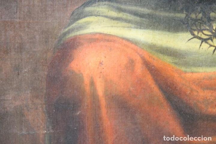 Arte: F3-028. VIRGEN DE LA DOLOROSA. ESCUELA ESPAÑOLA. OLEO SOBRE LIENZO. SIGLO XVII. - Foto 20 - 50187135