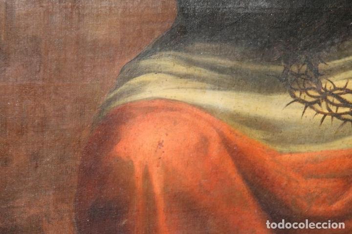 Arte: F3-028. VIRGEN DE LA DOLOROSA. ESCUELA ESPAÑOLA. OLEO SOBRE LIENZO. SIGLO XVII. - Foto 31 - 50187135