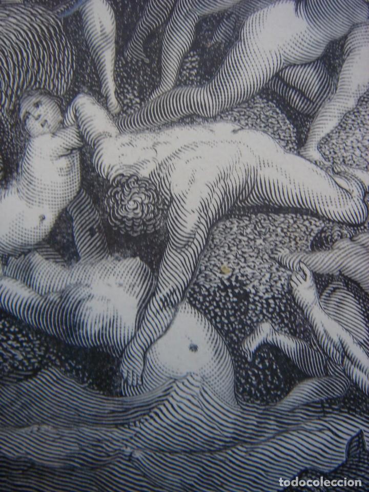 Arte: GRABADO RELIGIOSO, EL DILUVIO UNIVERSAL, DORÉ-PANNEMAKER, ORIGINAL, BARCELONA,1883,GRAN TAMAÑO - Foto 11 - 68371101