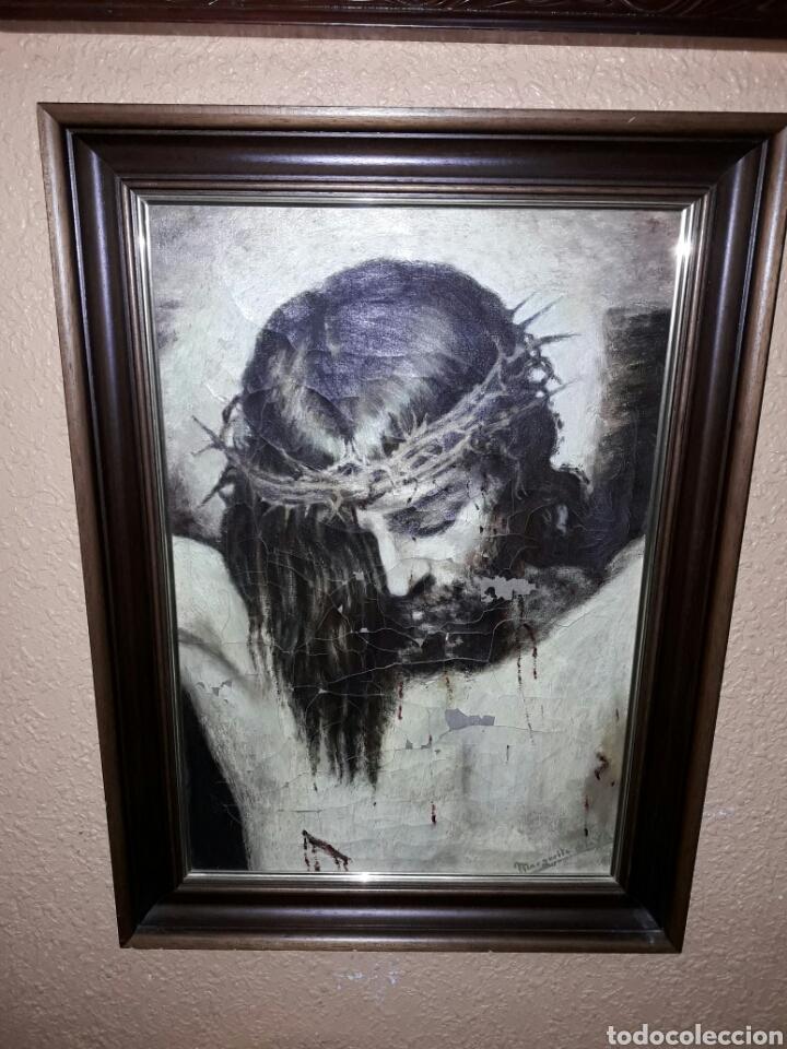 ÓLEO SIGLO XIX (Arte - Arte Religioso - Pintura Religiosa - Oleo)