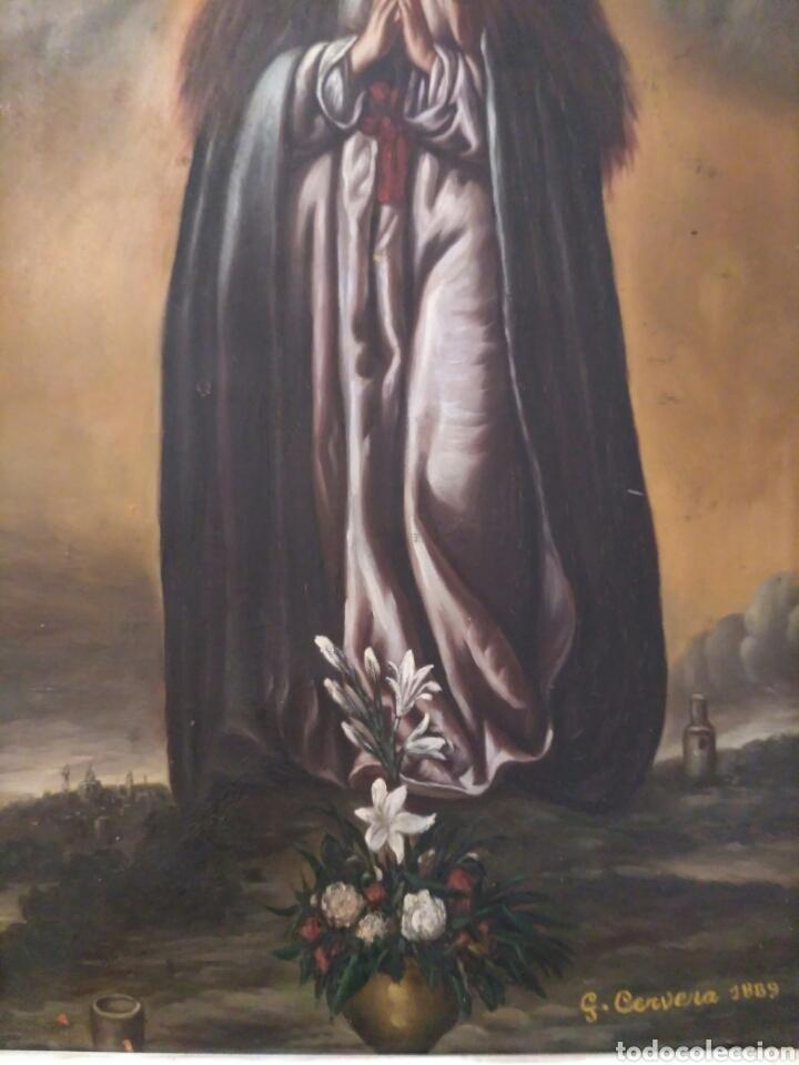 Arte: Inmaculada, oleo sobre cobre 1889 - Foto 5 - 69051250