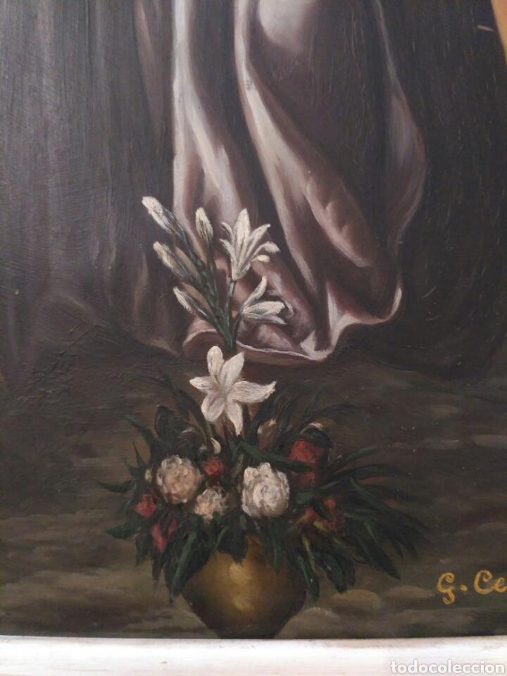 Arte: Inmaculada, oleo sobre cobre 1889 - Foto 6 - 69051250