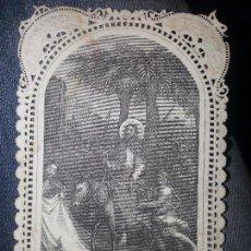 Arte: ORIGINAL ANTIGUO GRABADO ESTAMPA CALADA ENTRADA DE JESUS EN JERUSALEN , BARCELONA RIERA EDITOR . Lote 69306805
