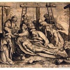 Arte: I2-017. GRABADO. PASSIO ET RESURRECTIO D.N. YESUCHRISTI.ADRIAN COLLAERT. ANTWERP CA 1600. Lote 53786204