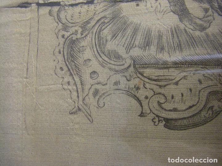 Arte: Grabado Seda s. XVIII Inmaculada de Alicante, Conde Soto Ameno Scorcia, de Pedro Paredes Orihuela - Foto 7 - 69384137