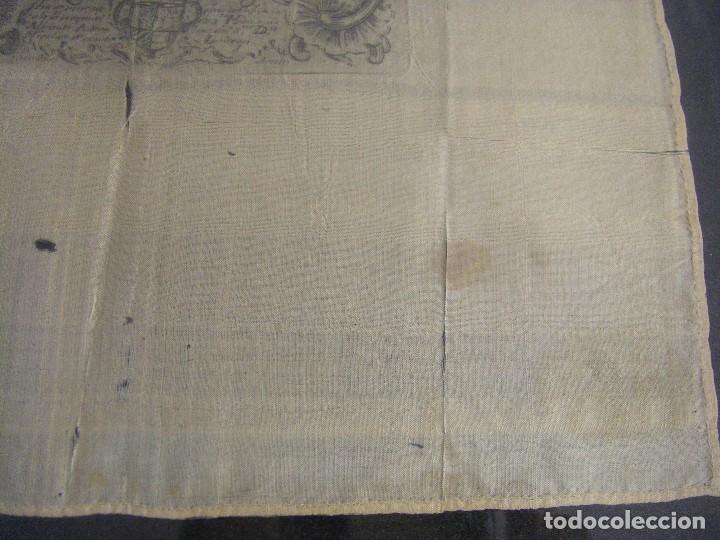 Arte: Grabado Seda s. XVIII Inmaculada de Alicante, Conde Soto Ameno Scorcia, de Pedro Paredes Orihuela - Foto 14 - 69384137