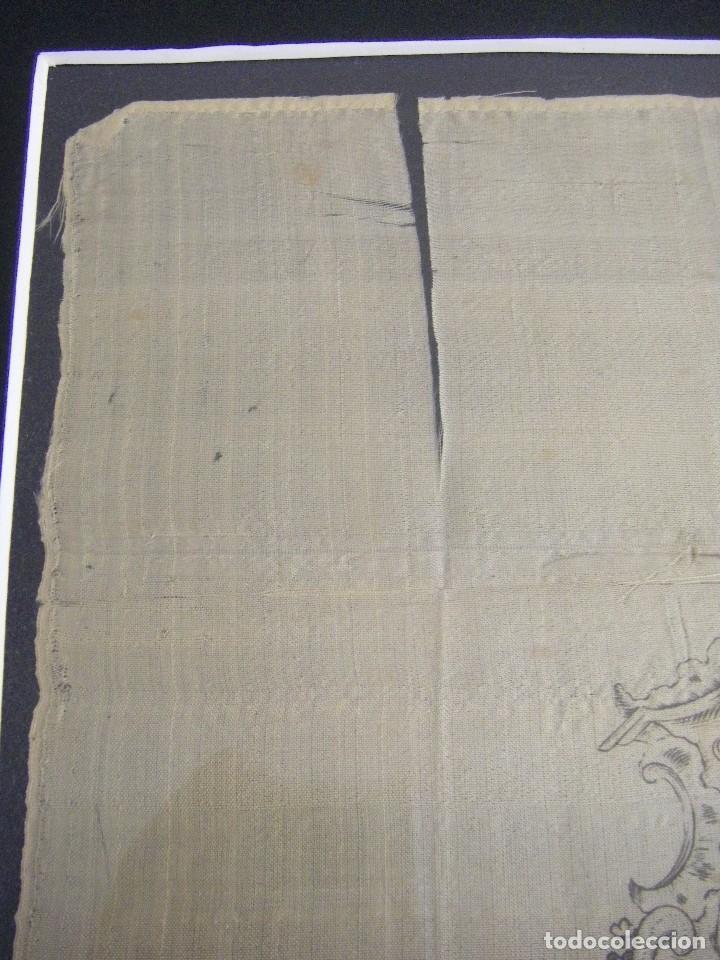 Arte: Grabado Seda s. XVIII Inmaculada de Alicante, Conde Soto Ameno Scorcia, de Pedro Paredes Orihuela - Foto 15 - 69384137