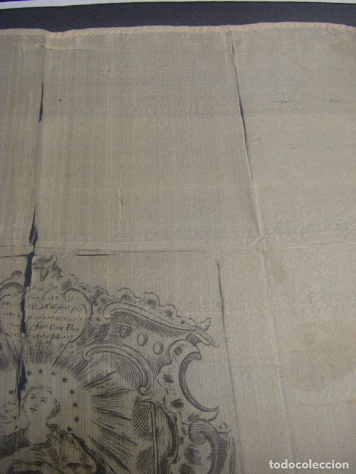 Arte: Grabado Seda s. XVIII Inmaculada de Alicante, Conde Soto Ameno Scorcia, de Pedro Paredes Orihuela - Foto 16 - 69384137