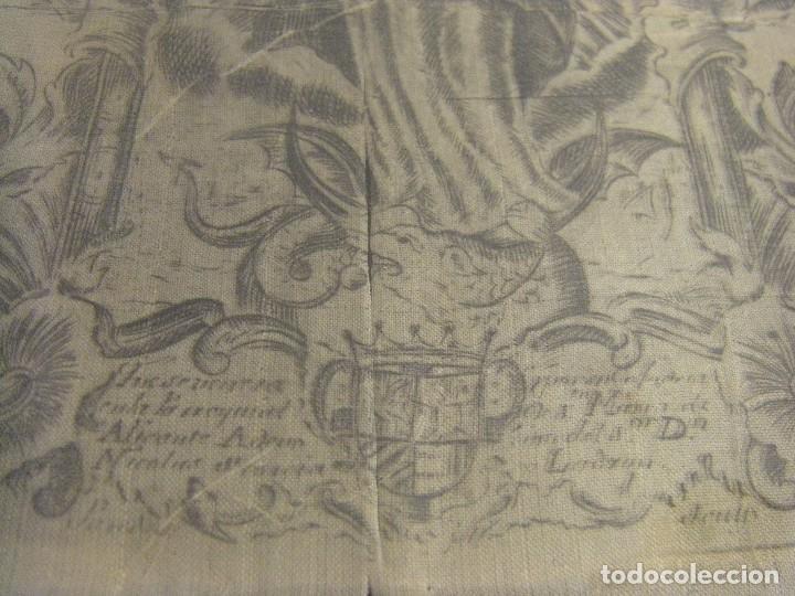Arte: Grabado Seda s. XVIII Inmaculada de Alicante, Conde Soto Ameno Scorcia, de Pedro Paredes Orihuela - Foto 18 - 69384137