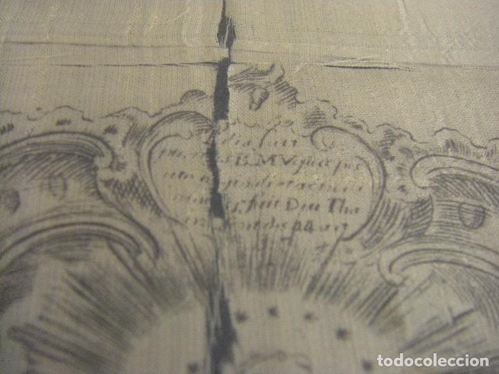 Arte: Grabado Seda s. XVIII Inmaculada de Alicante, Conde Soto Ameno Scorcia, de Pedro Paredes Orihuela - Foto 20 - 69384137
