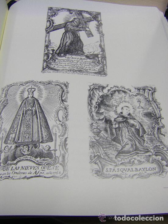 Arte: Grabado Seda s. XVIII Inmaculada de Alicante, Conde Soto Ameno Scorcia, de Pedro Paredes Orihuela - Foto 30 - 69384137