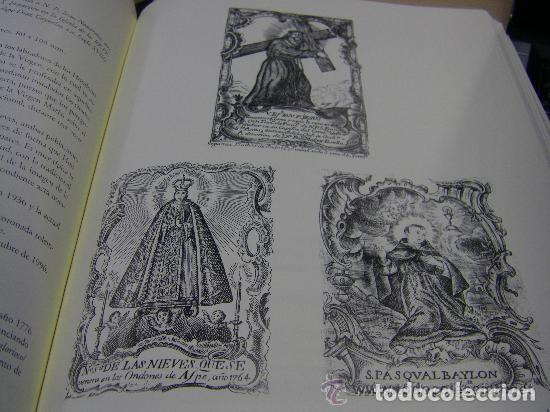 Arte: Grabado Seda s. XVIII Inmaculada de Alicante, Conde Soto Ameno Scorcia, de Pedro Paredes Orihuela - Foto 31 - 69384137