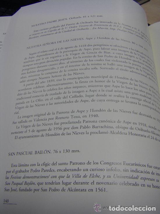 Arte: Grabado Seda s. XVIII Inmaculada de Alicante, Conde Soto Ameno Scorcia, de Pedro Paredes Orihuela - Foto 32 - 69384137