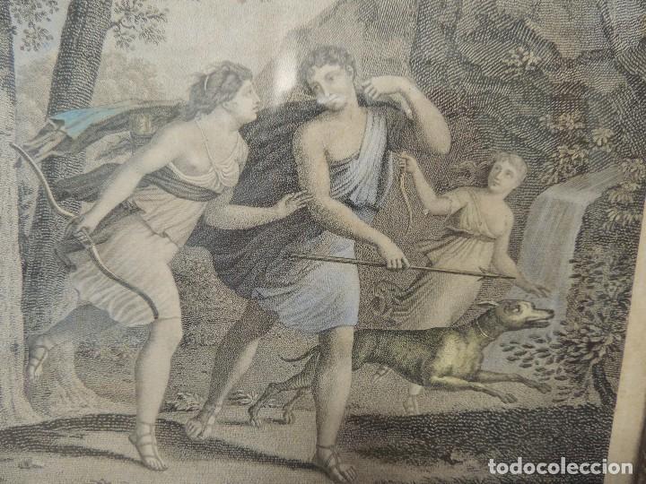 Arte: GRABADO 1870 TELEMACO (Hubert/Legris) - Foto 3 - 69564385