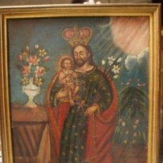 Arte: SAN JOSÉ CON EL NIÑO. Lote 69836497