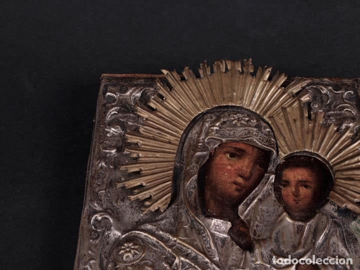 ANTIGUO ICONO RUSO SIGLO XVI (Arte - Arte Religioso - Iconos)