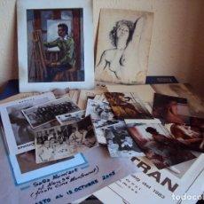 Arte: (PA-161210)LOTE DE DIBUJOS,CATALOGOS Y FOTOS DEL PINTOR ENRIC BERTRAN I VIVES. Lote 70137037
