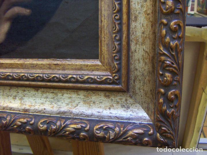 Arte: Oleo original siglo XIX enmarcado - Foto 10 - 70190325