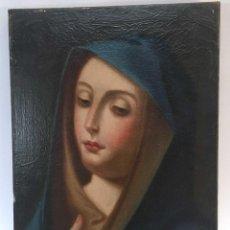 Arte: CUADRO VIRGEN DOLOROSA EN ÓLEO SOBRE LIENZO. S. XVIII. Lote 71055441