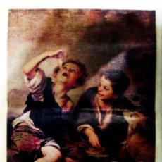 Arte: LITOGRAFIA ITALIANA GRANDI MAESTRI Nº 0043 DE- MURILLO -SOBRE PAPEL SIMULACION DE LIENZO.TAMAÑO75X55. Lote 71560191