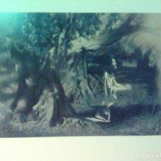 Arte: LITOGRAFÍA DEL PINTOR JOSE SEGRELLES, TITULADO LA ORACIÓN EN EL HUERTO. PERFECTO ESTADO.. Lote 100216524