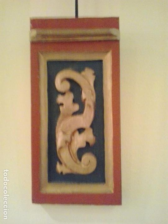 FRAGMENTO RETABLO S.XVIII RESTAURADO (Arte - Arte Religioso - Retablos)