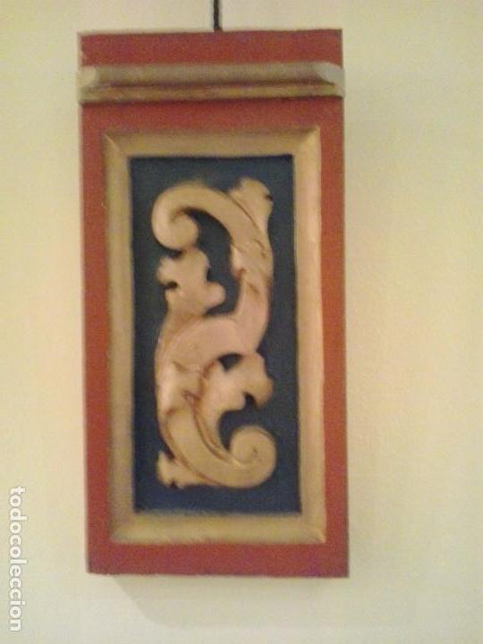 Arte: Fragmento retablo s.XVIII restaurado - Foto 3 - 71742095