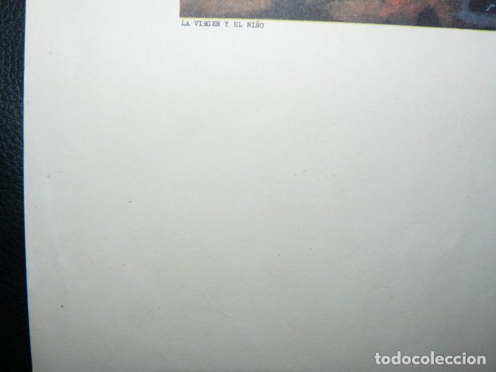 Arte: 4 LÁMINAS - VIRGEN DE LOURDES – VIRGEN Y EL NIÑO – SAGRADA FAMILIA – SAN PANCRACIO - ATRIB FERRANDIZ - Foto 12 - 71758923