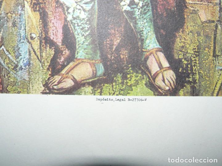 Arte: 4 LÁMINAS - VIRGEN DE LOURDES – VIRGEN Y EL NIÑO – SAGRADA FAMILIA – SAN PANCRACIO - ATRIB FERRANDIZ - Foto 25 - 71758923