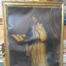 Arte: LOTE DE 4 CUADROS DEL SIGLO XVIII SAN FERNANDO,SANTIAGO MATAMOROS,DIVINA PASTORA Y JESUS NAZARENO. Lote 72902479