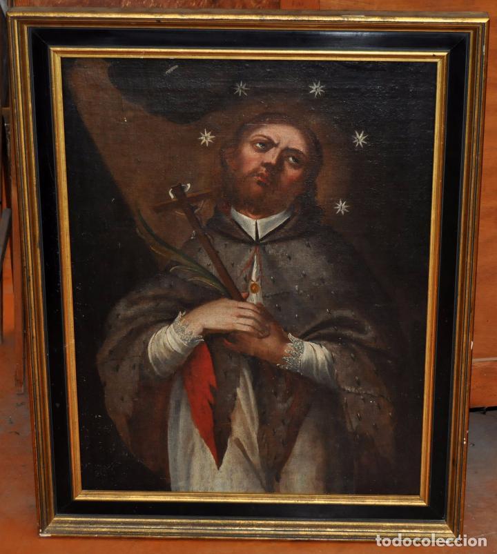 ESCUELA ESPAÑOLA DEL SIGLO XVIII. OLEO SOBRE TELA. SAN JUAN NEPOMUCENO (Arte - Arte Religioso - Pintura Religiosa - Oleo)