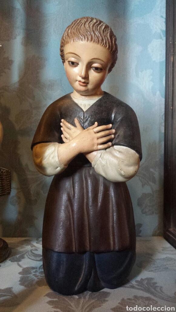 FIGURA ORANTE TALLA MADERA (Arte - Arte Religioso - Escultura)