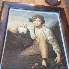 Arte: RETRATO DE MUCHACHO S. XVIII. Lote 74265547