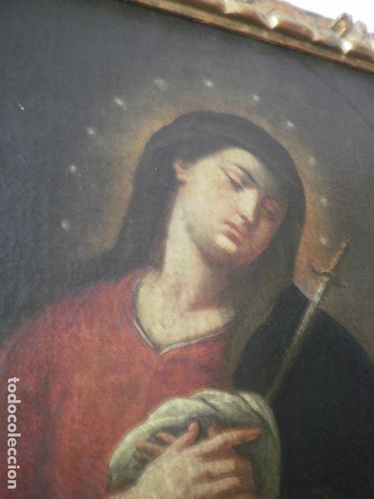 VIRGEN. (Arte - Arte Religioso - Pintura Religiosa - Oleo)