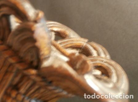 Arte: Pareja de querubines madera tallada - Foto 2 - 74365255