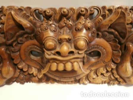 TALLA TAILANDESA. (Arte - Arte Religioso - Escultura)