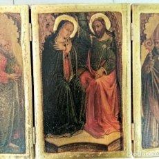 Arte: TRÍPTICO RELIGIOSO . Lote 75074555