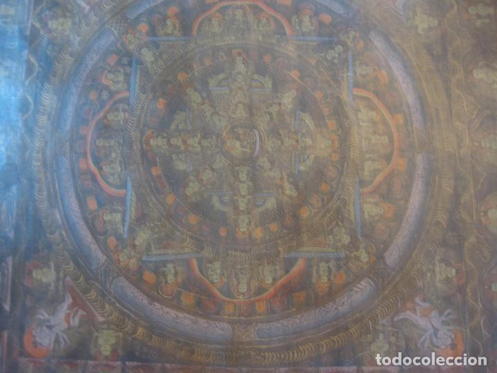 Arte: Hule de meditación budista. - Foto 3 - 75127567