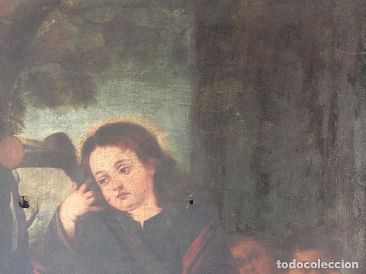 Arte: ÓLEO SOBRE LIENZO NIÑO DE PASIÓN SIGLO XVII - 1000-050 - Foto 14 - 43426843