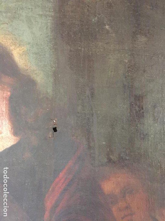 Arte: ÓLEO SOBRE LIENZO NIÑO DE PASIÓN SIGLO XVII - 1000-050 - Foto 15 - 43426843