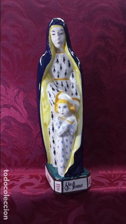 SANTA ANA CON VIRGEN NIÑA (Arte - Arte Religioso - Escultura)