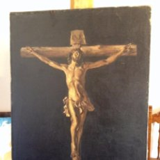 Arte: PINTURA RELIGIOSA - CRISTO. Lote 75244815