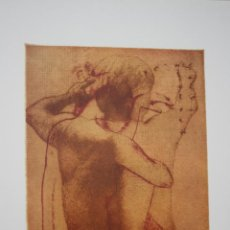 Arte: LITOGRAFIA ORIGINAL DE - TRAVER CALZADA - FIRMADA POR AUTOR EN GRAFICA .TAMAÑO 50 X 37. AÑO 1997. Lote 75968295