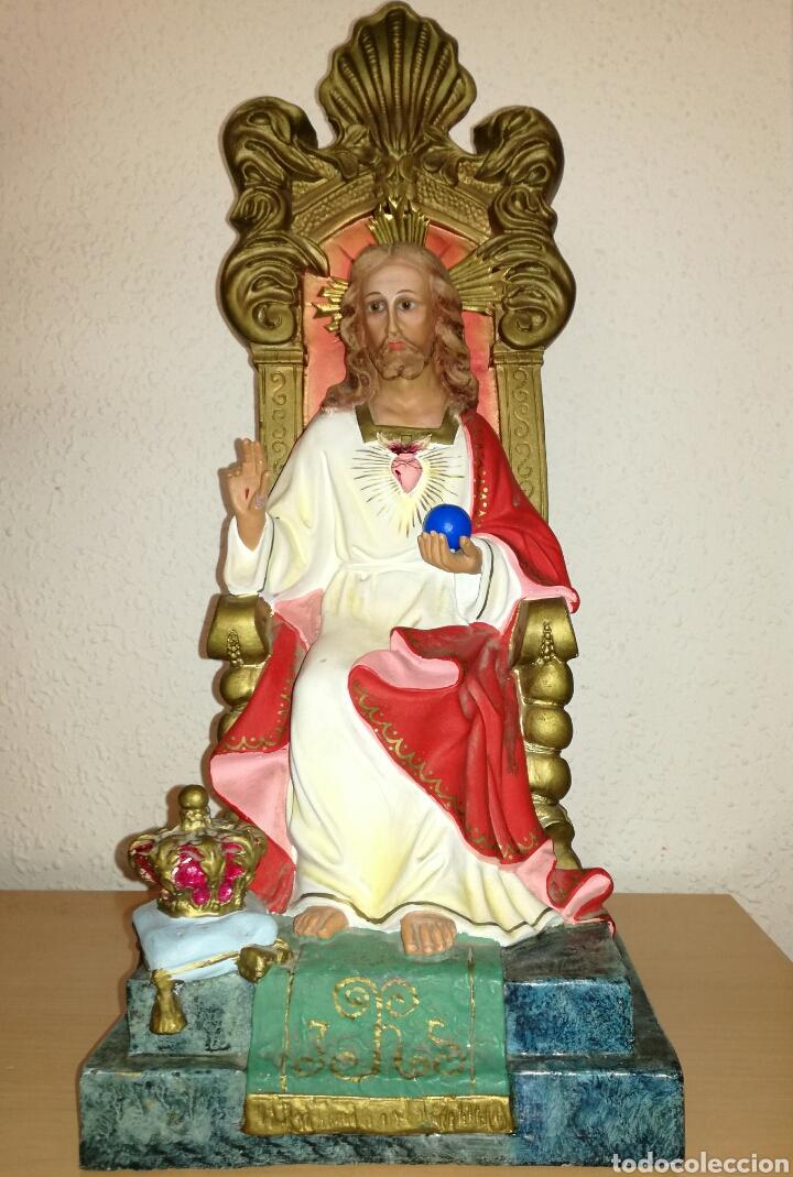 SAGRADO CORAZON DE OLOT. (Arte - Arte Religioso - Escultura)