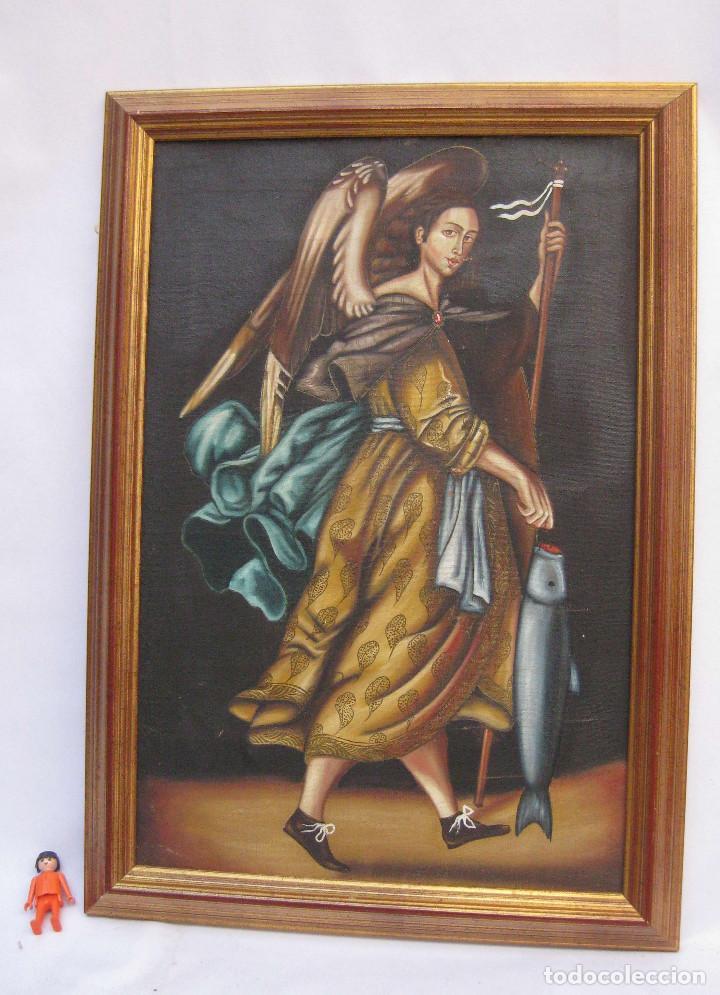 cuadro pintura oleo sobre lienzo marco madera a - Comprar Pintura ...