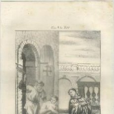 Arte: LITOGRAFIA DE RELIGION: S. DOROTEO Y S. GORGOMIO M. G-REL-134. Lote 76842911