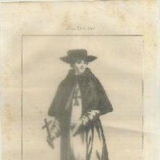 Arte: LITOGRAFIA DE RELIGION: EL BEATO SIMON DE ROJAS G-REL-141. Lote 76843319