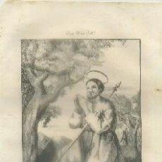 Arte: LITOGRAFIA DE RELIGION: S. MATEO APOSTOL Y EVANGELISTA G-REL-144. Lote 76846891