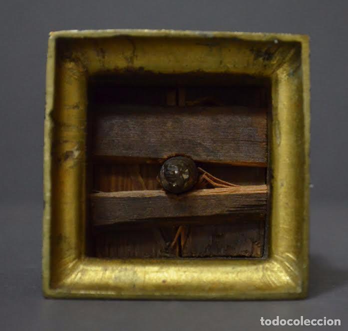 Arte: San Antonio de bronce dorado, S XVIII - Foto 5 - 77298549