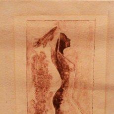 Arte: HORACIO GONZALEZ. GRABADO ORIGINAL, FIRMADO A MANO. 34X19CM. Lote 77454541